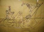 il bozzetto disegnato da Valerio Feliciani